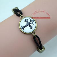 Free shipping 20pcs/lot vintage style Cross bracelet,Unique DIY Jewelry