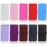 Melon pattern Flip Stand Magnetic Wallet Style Leather Cover For iPhone 6 4.7 Inch With Card Slots (10 Colors)