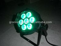 free shiping 12pcs/lot 7*10w rgbw 4in1 led par light