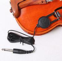 2PCS/LOT Cherub WCP-60V Classic Violin Pickup w/ 1 meter Cable 6.3mm Plug With Retail Box High Quality Free shipping
