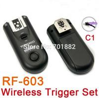 GO PRO Yongnuo Flash wireless shutter RF-603 C1 RF 603 Flash Trigger for Canon 60D/1000D/450D/400D/350D/300D/500D/550D