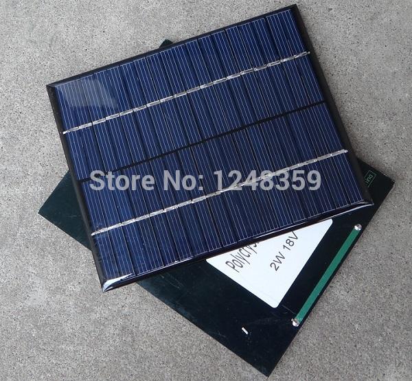 Güneş enerjisi 12v şarj cihazı 110*136*3mm ücretsiz nakliye