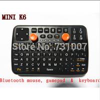 wireless Bluetooth mouse, gamepad & keyboard MINI K6 Free shipping