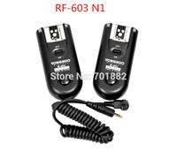 Yongnuo RF-603 N1 Flash Trigger 2 Transceivers for Nikon D90/D5000/D3100/D3200/D7000//D5100/D600