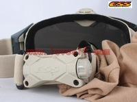 Loveslf  ESS fan of glasses military  tactical goggles three colors can choose