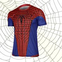 The new elastic leica spiderman fashion t - shirts straitjacket