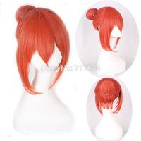 Gintama/Kagura Orange Short Cosplay Anime Wig