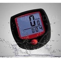Waterproof Outdoor LCD Cycle Bicycle Computer Speedometer Odometer #D2