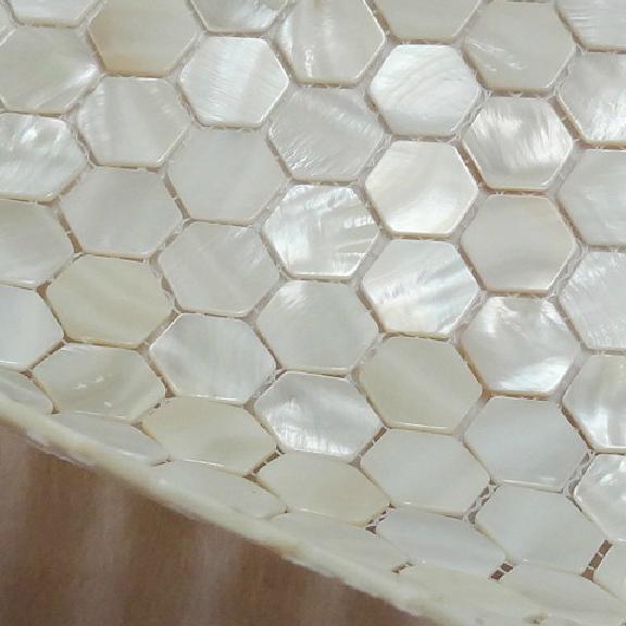 Online kopen wholesale zeshoek vloeren uit china zeshoek vloeren groothandel - Keukenmuur deco ...