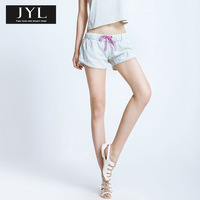 Born to be real not perfect JYL jeans white brand casual womens denim shorts for women,sport loose shorts jeans short  shorts