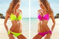 NEW Sexy Women's Bikini SET Push-up Padded Bra Swimsuit Bathing Suit Swimwear 5 colors BK002