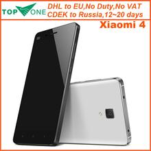 Best Service In stock Original Xiaomi Mi4 M4 16GB 64GB WCMA FDD LTE  Mobile Phone OS4.4  Snapdragon 801 quad core 2.5GHz 3GB RAM(China (Mainland))
