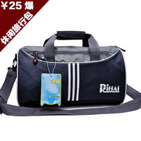 men's travel bags 2014 new male bags leisure shoulder bag Circular cross section quality of cheap men's bags  High quality goods