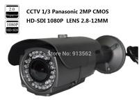 CCTV 1/3 Panasonic 2MP CMOS HD-SDI 1080P Full Lens 2.8-12mm Outdoor SDI IR Camera