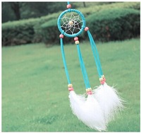 ZH0922 Mini Dream Catcher 3 colors  Dreamcatcher charm wind chimes Indian Wind chime pendant