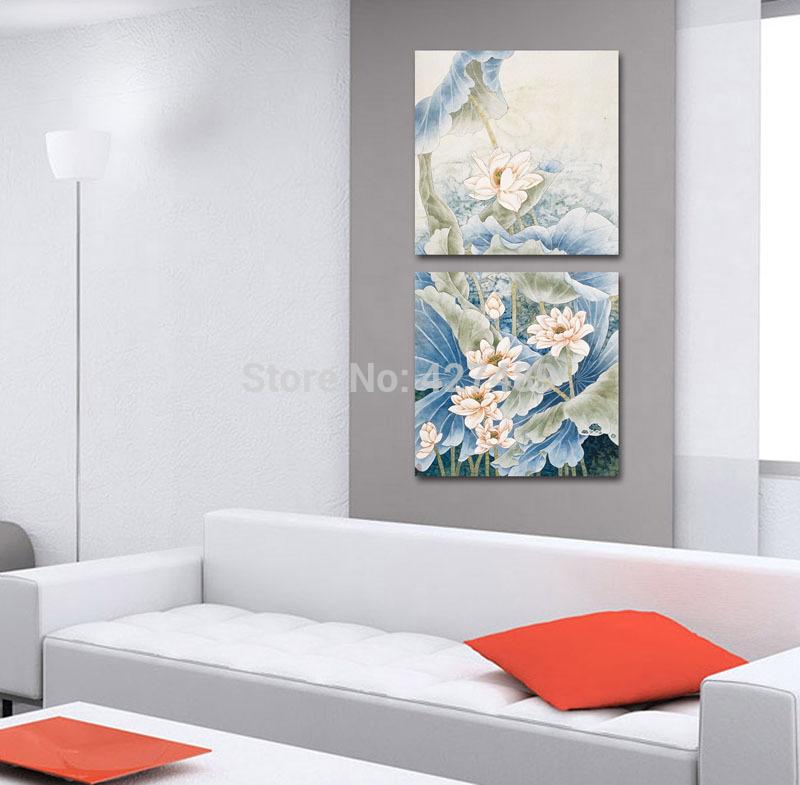 Famous Paintings of Flowers Lotus Flower Paintings