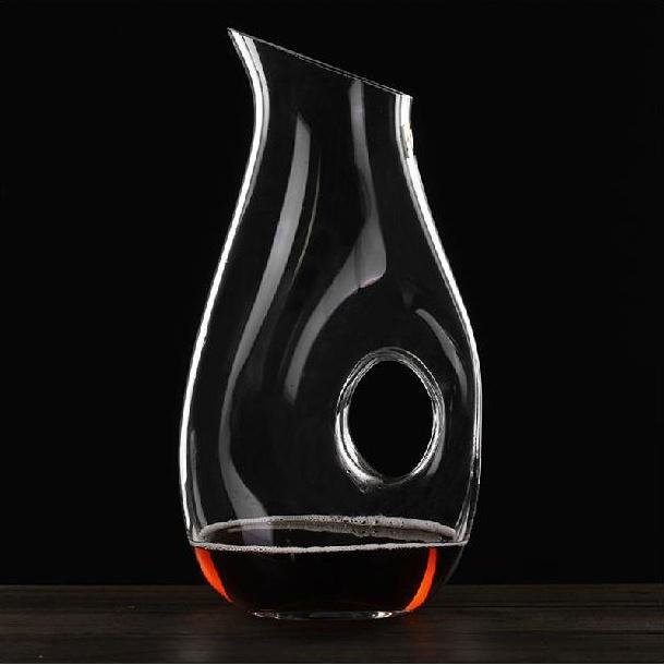Stylish 1250ML Handmade Crystal Glass Red Wine Decanter Carafe Barware and Tableware Craft Decoration Accessories Furnishing(China (Mainland))