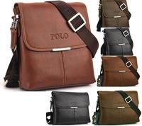 Free shipping 2014 Hot Men's Bags Briefcase casual men messenger bag genuine leather male shoulder bag 3color 3size MBG1