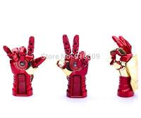 Metal Avengers Iron Man Hand gloves Artillery 4GB 8GB 16GB 32GB USB 2.0 Flash Drive Memory Stick Disk