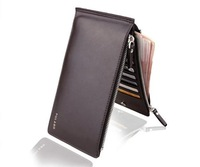 Happy Easy Buy-- Man Multi-fuctional 17 Cards Purse--2 Zips Purse--Phone Wallet