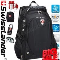 men Brand Swisslander,Swiss Laptop backpack,Computer backpack,men's Laptop bagpacks 15.6 inch laptop backpack for notebook