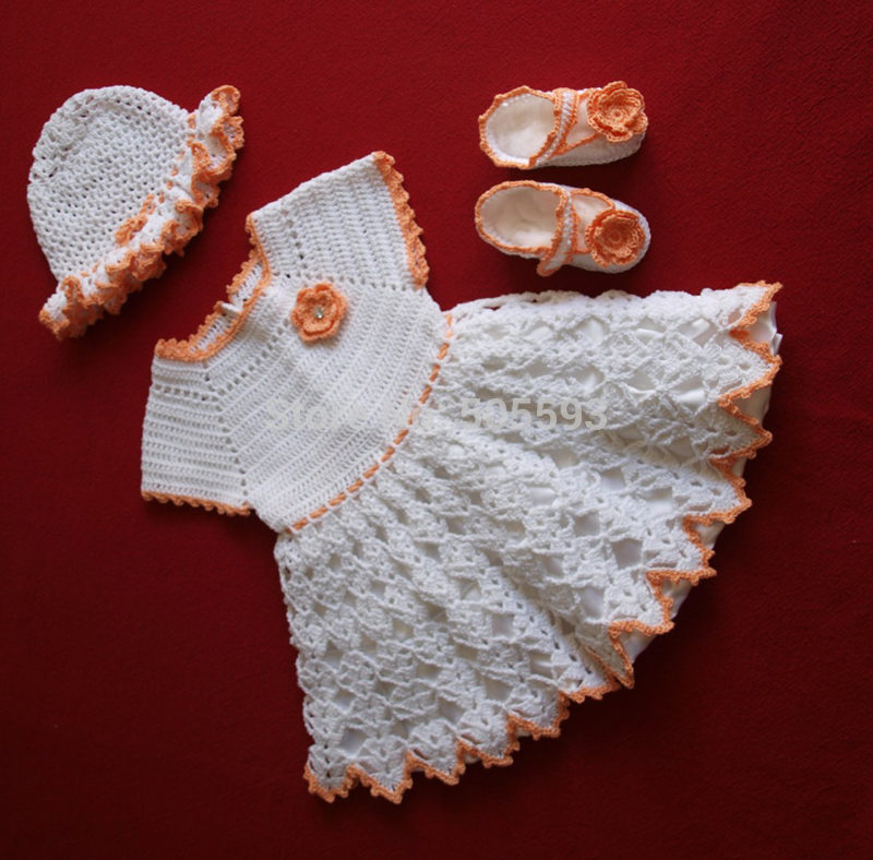 Crochet Baby Outfit Pattern : Compare Prices on Newborn Crochet Dress- Online Shopping ...
