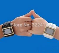 Q6-5(Love Brigade-2pcs)Table Q6-5 next generation of mobile phones, digital key quad-band fashion watch mobile phone