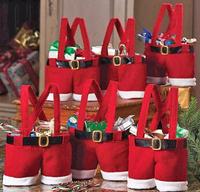 Handbag Candy Pouch Bag Wedding Sack Present Gift Bag Girl Lady Christmas Decoration Cute Santa bag Lovely