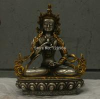 Chinese China Folk Culture Handmade Brass Bronze Statue Lucky Eagle Sculpture Tibetan crafts gift Copper Bronze Statue