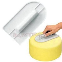 2014 New Practical Cake Tools/Convenient Plastic Cake Decorating Tools/Eco-Friendly Cake Smoother
