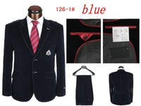 New 2014 Suit And Pants Men For Wedding Clothes Suit (jacket + pants) Free Shipping Promotion