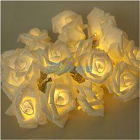 3M 20 Rose Flowers String Lights Wedding Party Home Patio Decor Lighting#56892
