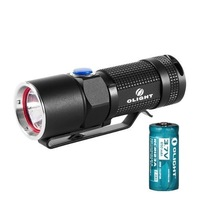 Olight S10-L2 Flashlight Side-switch LED Flashlight 400 Lumens W/ 16340 Battery
