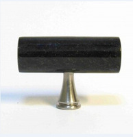 sales!cabinet knob Black Galaxy granite handle stone knob 6