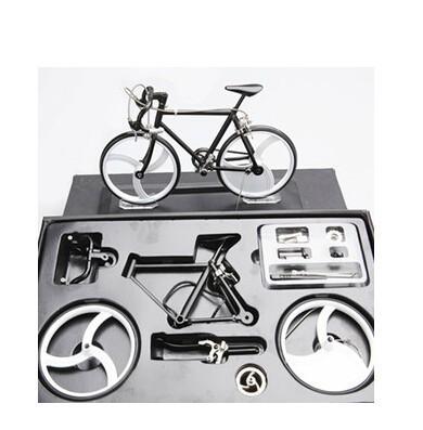 free shipping diy assembled bicycle models educational toy kids gift bicycle assembling parts model mini bicycle(China (Mainland))