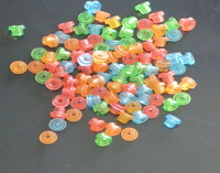 5000Pcs Wholesale  colorful Rubber Tattoo  Grommets Nipples Tattoo Accessory for Tattoo Machine Needles
