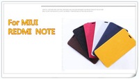 Min.order is$10 (mix order)Durable left right flip holder monster protective leather case For miui xiaomi redmi hongmi note
