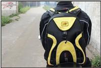 Motorcycle Helmet bag Waterproof High capacity Backpack Pro-biker G012 black/yellow Free/Drop Shipping
