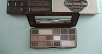 Free DHL(10pcs/lot) 2014 New Chocolate Bar Eye Shadow Collection Makeup 16 Colors Palette +T  FACED LOGO
