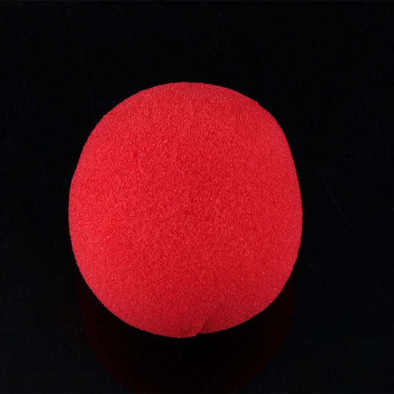 Clown Nose Red Sponge Ball