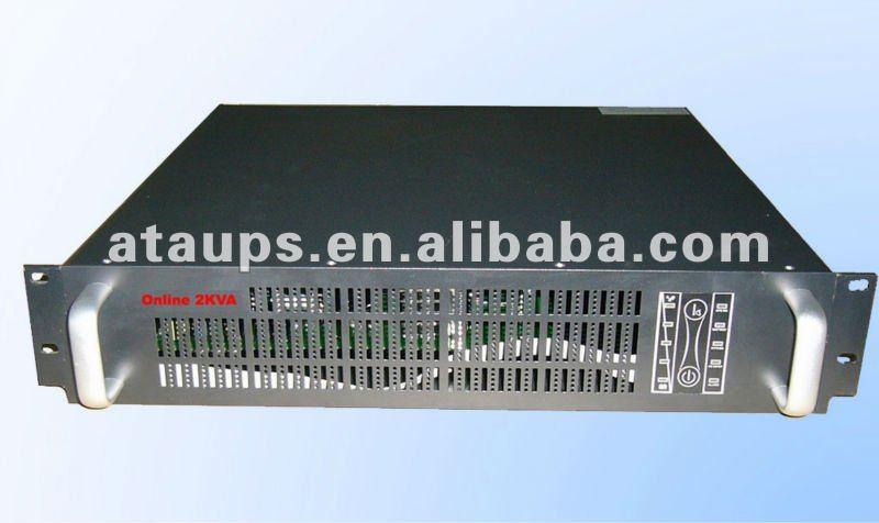 Rack-mounted onine UPS 3kva power backup, long backup time(China (Mainland))