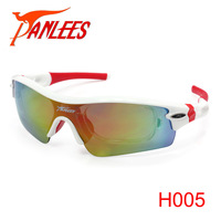 Hot Sales Panlees New Design Prescription Sports Sunglasses Prescription Sport Goggles Cycling Glasses 3 Lenses Free Shipping