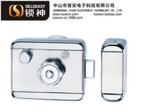 IC card Lock entrance guard electronic lock anti-theft door lock Infrared remote alarm lock