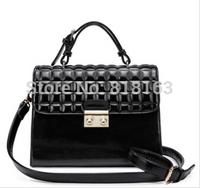 Free Shipping plaid shoulder bag handbag messenger bag women's handbag work bags