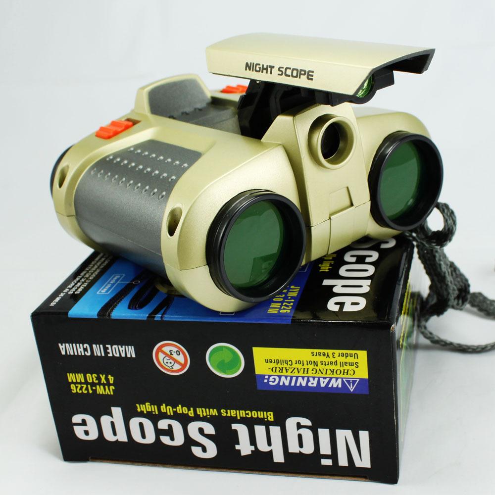 La réalisation de conception de la lampe! Plus récent 4x30 focus, faible- lumière portables de vision nocturne jumelles jouets pour les enfants comme un don