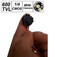 10pcs/lot Smallest Mini 600TVL 500MP IR Light Night Version Pinhole CCTV Hidden Covert Camera for Home Security Surveillance