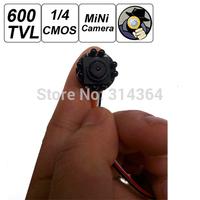 Smallest Mini 600TVL 500MP IR Light Night Version Pinhole CCTV Hidden Covert Camera for Home Security Surveillance