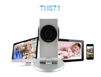 TENVIS TH671 HOT SALE Indoor IP Camera Wireless WIFI IP Camera For iPhone Android Windows Mobile Java,20 pcs/lot Free shipping