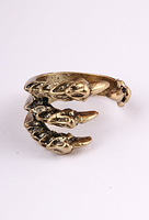 Fashion ring personality bronze DEVIL'S TALONS Claw Ring 6pcs/lot Free Shipping