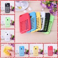soft case for iphone 5c Fresh silicone cover for iphone5c i phone 5 c covers Good quality cases Free shipping